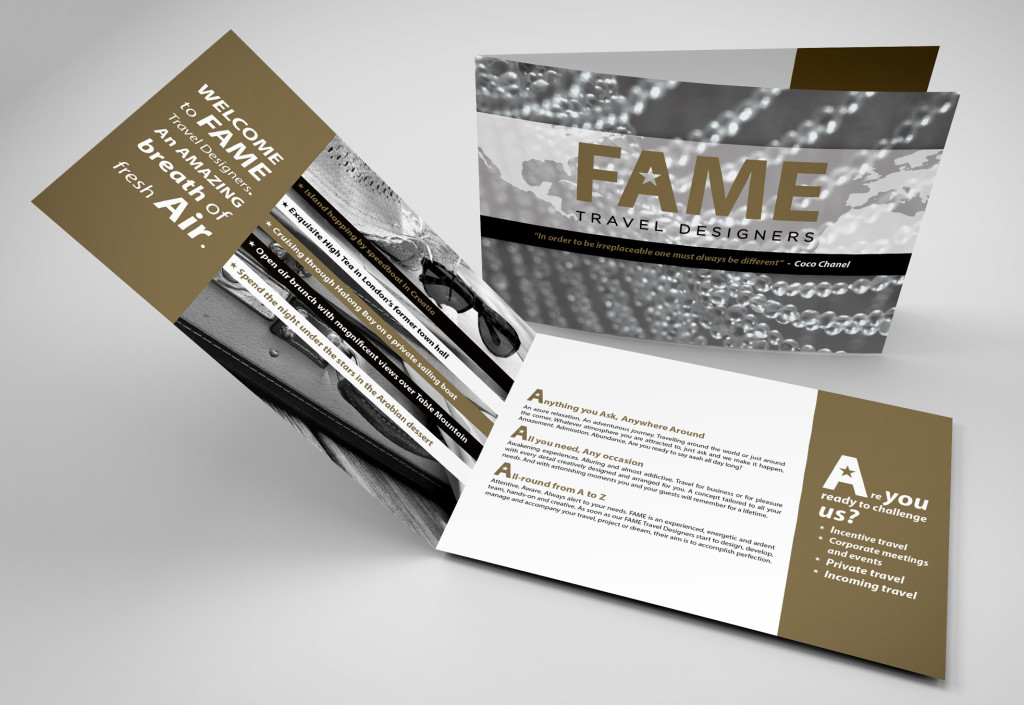 Fame | Brocure