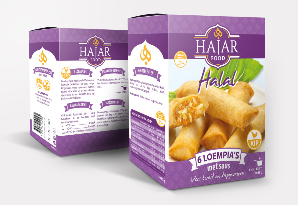 Hajar Food | Verpakking