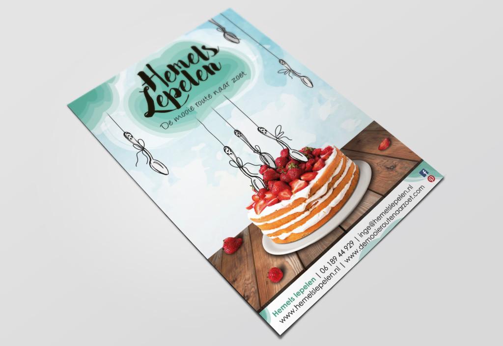 Hemels Lepelen | Visitekaart A6
