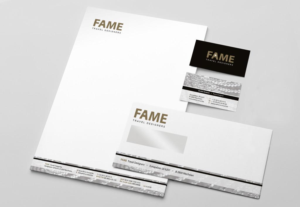 Restyling huisstijl Fame